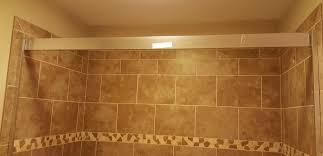installing sliding shower doors