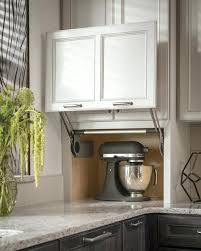 Kitchen Cabinet Lift Appliance Garages Kitchen Cabinets Counter Wall With Vertical Lift
