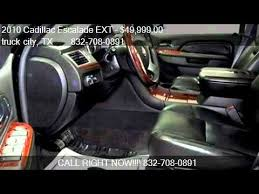 cadillac escalade 4x4 for sale 2010 cadillac escalade ext luxury 4x4 truck for sale in ho