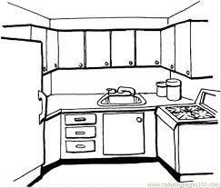 coloring pages of kitchen things kitchen coloring page kitchen coloring page kitchen items coloring