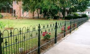 ornamental wrought iron fence panels fences ideas