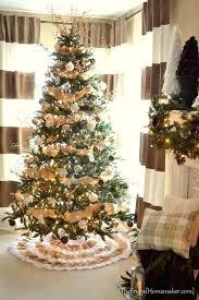 wholesale ruffle burlap tree skirt diy no sew burlap