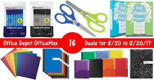 Office Depot by Office Depot Officemax Penny Items 8 20 17 8 26 17