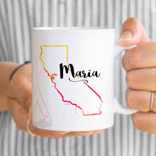 personalized gift for coworker california coffee mug goodbye