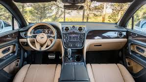bentley interior 2016 suv bentley bentayga u2013 robb report