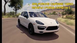 porsche cayenne review 2012 2012 porsche cayenne turbo review forza horizon 3