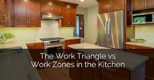 Kitchen Triangle Design The Work Triangle Vs Work Zones In The Kitchen Home Remodeling