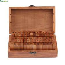 wooden letter templates online buy wholesale alphabet stamp from china alphabet stamp 2017 new 70 pcs diy letter alphabet stamp vintage teach wooden alphabet and number stamps set