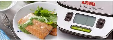 seb vita cuisine seb vitacuisine vs404300 cuiseur vapeur à 85 electroconseil