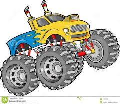 bigfoot monster truck cartoon monster cars clipart