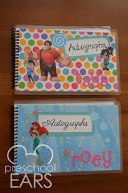 personalized autograph books diy disney autograph books disney autograph books books and