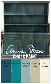 colorways layering annie sloan chalk paint in aubusson blue