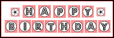 Happy Birthday Halloween Banner by Free Printable