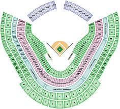 Fenway Park Seating Map Dodger Stadium Maplets