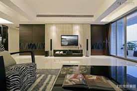 apartment living room with tv and lounge interior design room