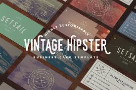 vintage business card template business card templates