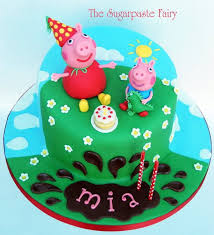 George Pig Cake Decorations 59 Best Pepa Prase Images On Pinterest Peppa Pig Cakes George