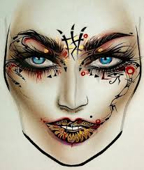 makeup artist sketchbook best 25 makeup drawing ideas on eye sketch eye