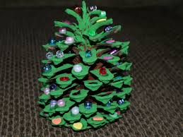 holiday how to pine cone christmas tree u2013 any second now