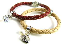 braided leather cord bracelet images Leather cords spoilt rotten beads jpg