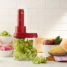 wolfgang puck 4 in 1 electric power spiralizer 8370157 hsn