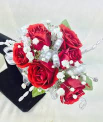 Prom Corsage Red Rose Prom Corsage U2013 Swenson U0026 Silacci Flowers