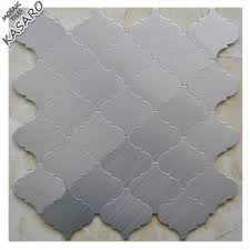 Aluminum Tile Backsplash by Backsplash Silver Mosaic Tile Backsplash Silver Mosaic Tile