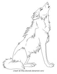 wolf coloring pages free printable in anime wolf coloring pages