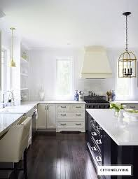 satin nickel white kitchen love everything about this 3 homes featuring the studio collection hickory hardware