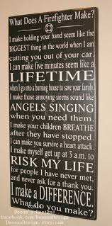 Family Wood Sign Home Decor Best 25 Firefighter Decor Ideas On Pinterest Firefighter Gifts