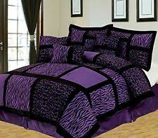 Leopard King Size Comforter Set Black White King Size Safari Comforter Set 7pc Micro Suede Bedding