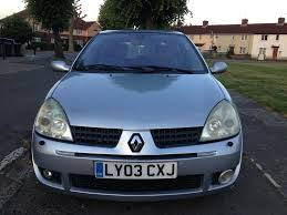 renault clio sport 2 0 16v 2003 3 door 5 speed manual 85k