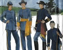 Civil War Halloween Costume Civil War Enactment Costume Union Soldier Confederate Soldier