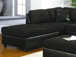 Black Sectional Sofa With Chaise Black Microfiber Sectional Sofa Forsalefla