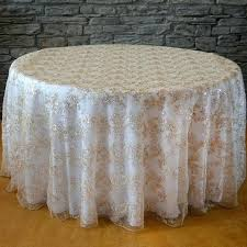 wholesale wedding chair covers awesome 120 sequins floral tablecloth wholesale wedding
