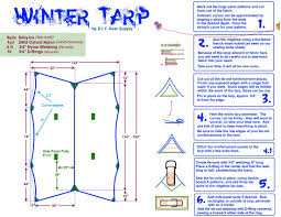 tarps diy gear supply