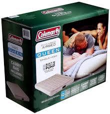 coleman queen size inflatable mattress