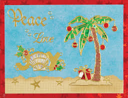 tropical christmas cards tropical christmas card