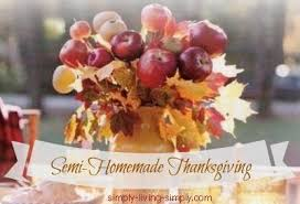 simply living simply semi thanksgiving series http