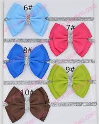 ribbon hair bands aliexpress buy free shipping 50pcs new baby hair bow flower