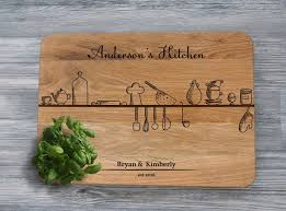 personalised cutting boards personalised cutting board kitchen decor wooden cutting boards
