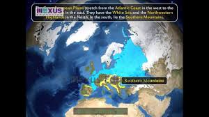 Europe Physical Features Map by Europe Physical Features Youtube