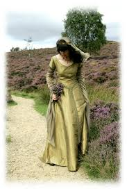 Medieval Wedding Dresses Uk Nine Ladies Design Medieval Wedding Gowns