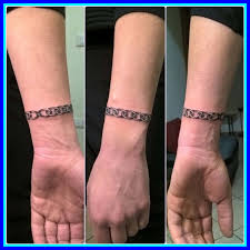 chain bracelet tattoo images Amazing chain bracelet tattoo pics of with names concept and ideas jpg