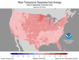 national climate report november 2015 state of the climate