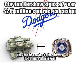 Dodgers Suck Meme - the dodgers finally do something smart with their money signing