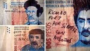 Para Memes - el billete de 2 pesos fue utilizado para memes y virales desde 2014