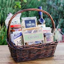 local gift baskets california chef artisan gift basket the santa barbara company