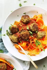 cuisine vegan easy lentil meatballs vegan gf minimalist baker recipes