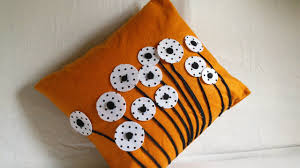Cusion Cover Diy Home Decor Cushion Cover Making Felted Pillow Cases